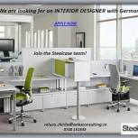 Job opportunity! Interior Designer with German!